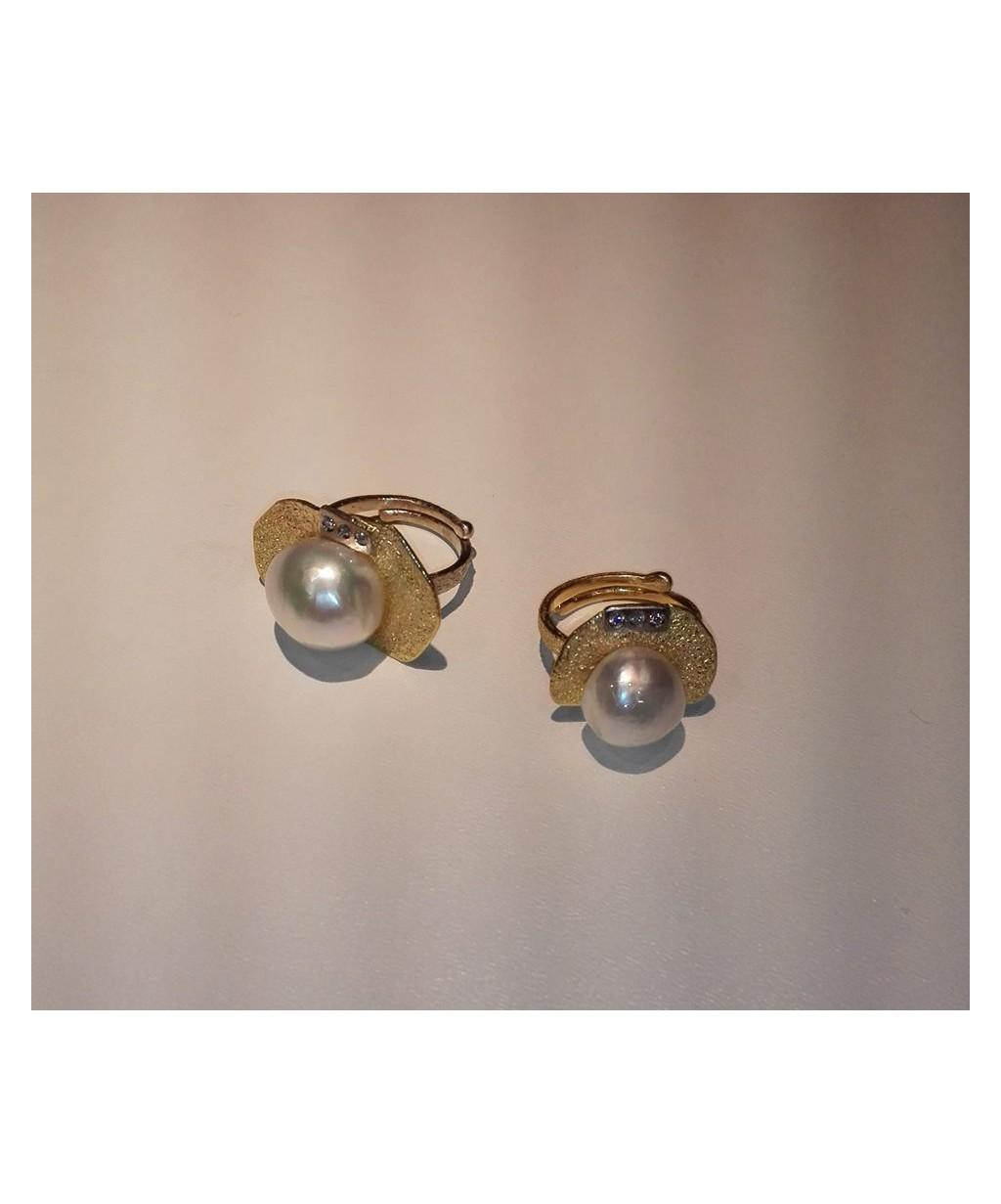 Anelli con perle